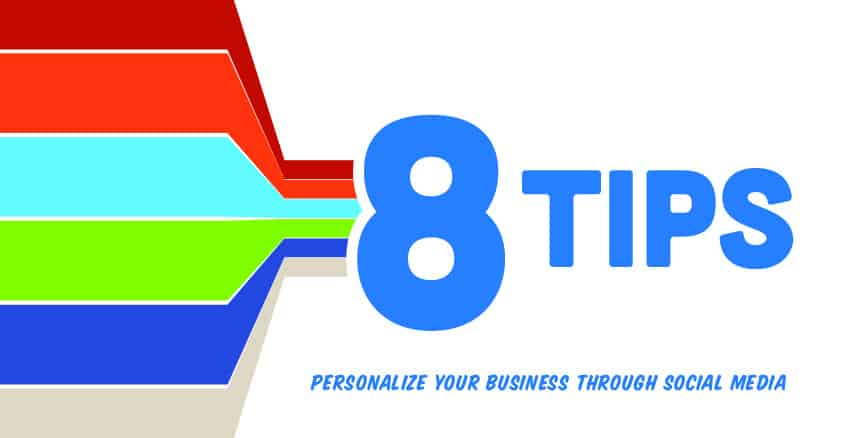 personalize your business with social media