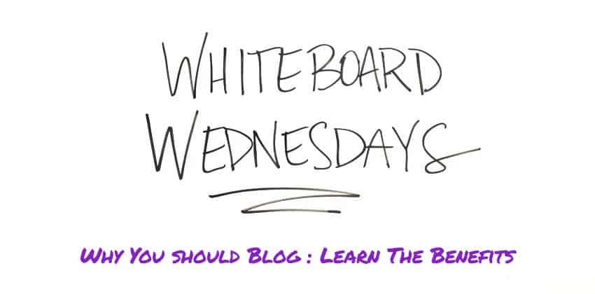 #whiteboardwednesday