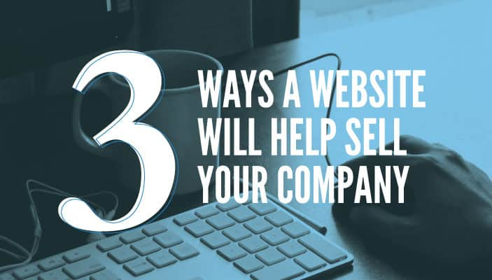 websites will help sell your company