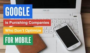google and mobile websites