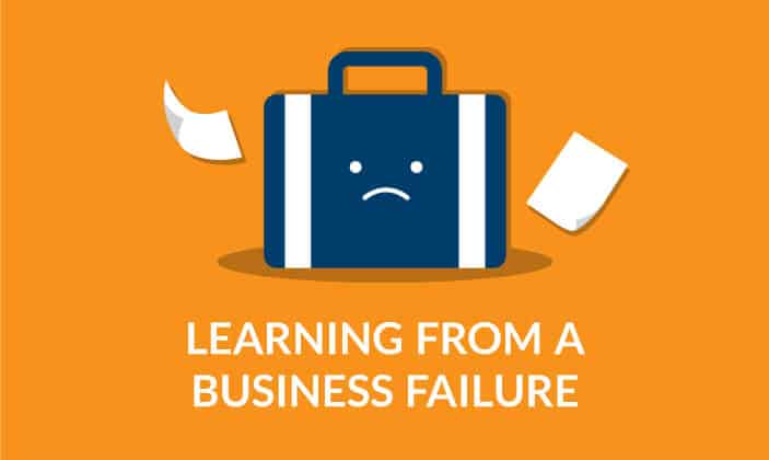 Learning from a business failure