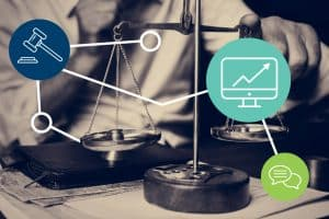 Lawyers cam improve their legal marketing strategy with a website