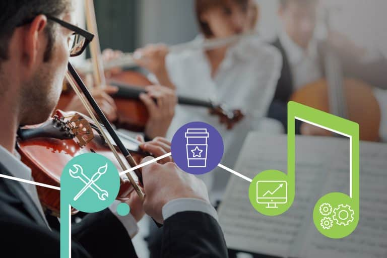 Marketing services that create a symphony
